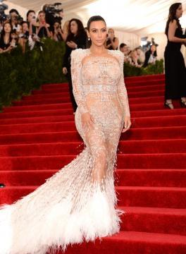 Kim Kardashian na Met Gala 2015