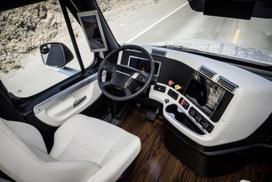 Cabine do camião inteligente Daimler