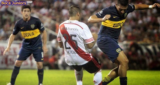 Pablo Pérez autor del 2 gol frente a River