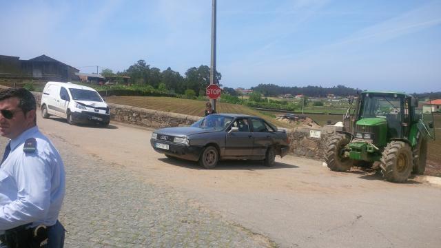 Celestino Costa conduzia um Audi