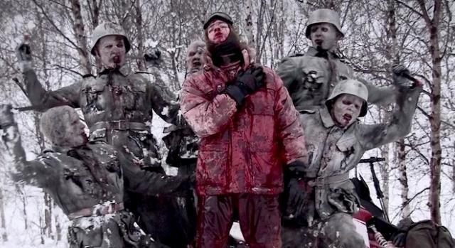 Batalla sangrienta en la nieve en ''Zombis Nazis''