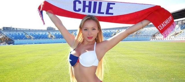 Daniella Chavez, pour le Chili !