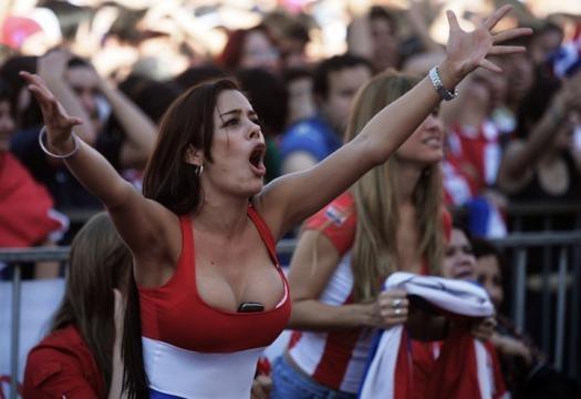 Larissa Riquelme, pour le Paraguay !