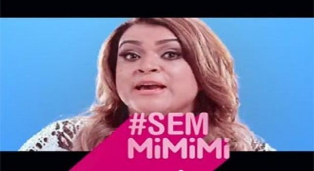 Preta Gil  na campanha # Sem mimimi da Sanofi