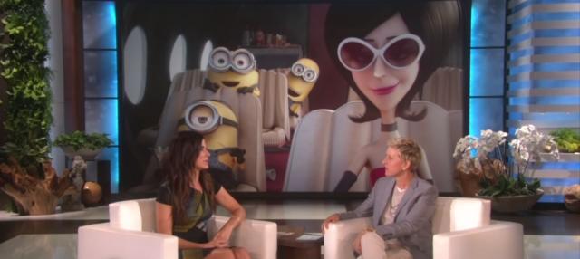 Sandra Bullock la villana de los Minions en inglés