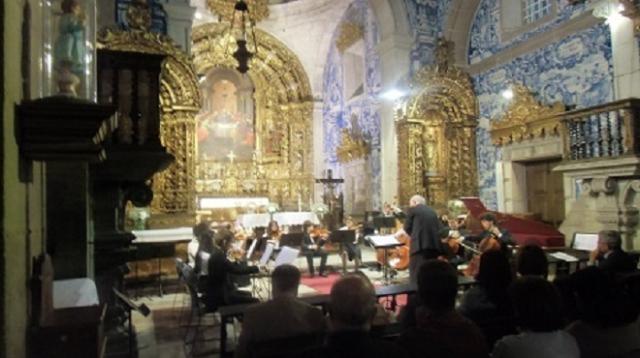 Ambiente de   Concerto na Igreja da Misericoridia.