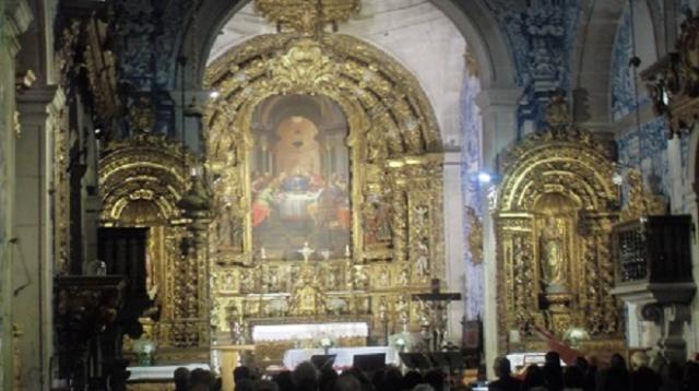 Pormenor de Altar Mor da  Igreja da   Misericórdia