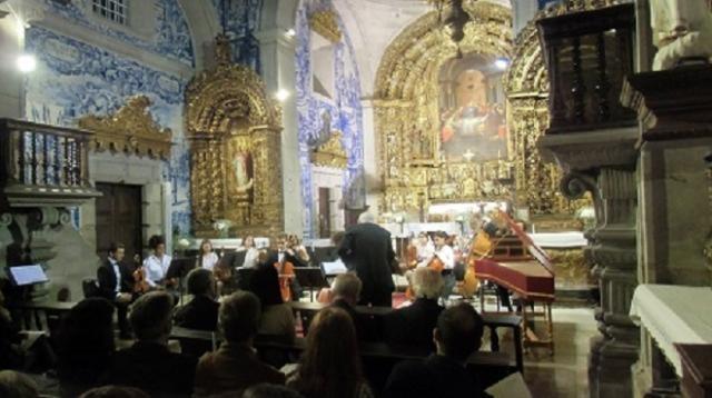 Vista Concerto da Igreja na Igreja da Misericorida