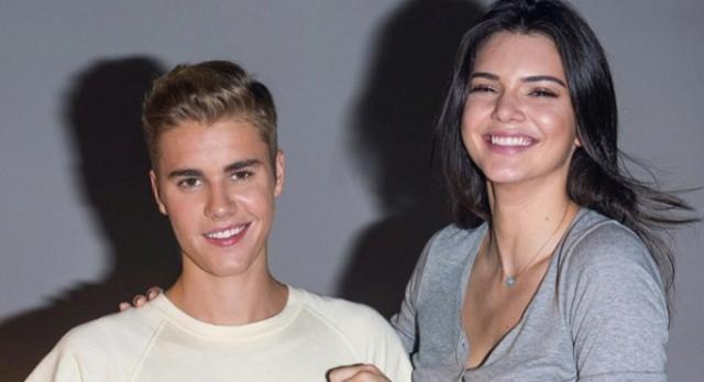 Justin Bieber e Kendall Jenner em Hong Kong