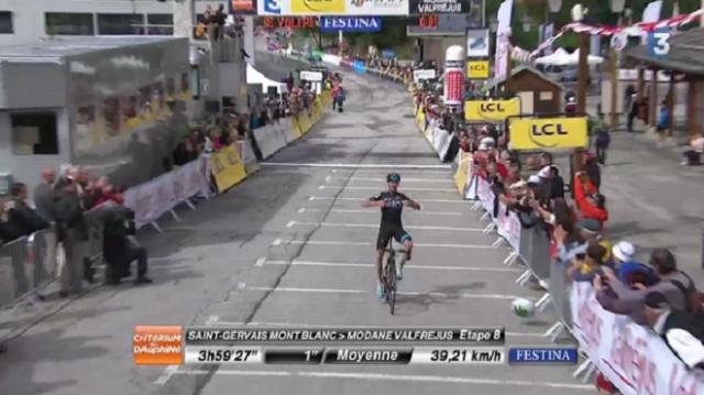 Chris Froome a remporté la 8e étape du Dauphiné !