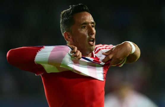 Barrios puso en aprietos a Argentina