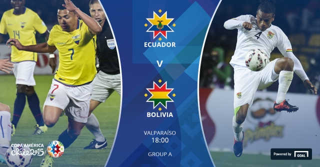DIRECT / EQUATEUR - BOLIVIE ( Copa America )