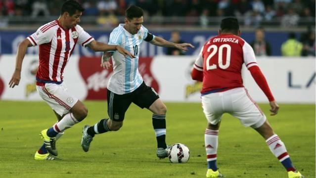 Messi, gran partido del mejor jugador del mundo