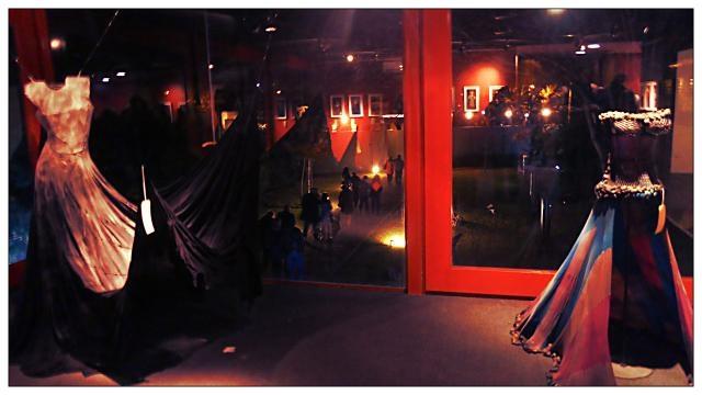 Una de las salas de exposición del Teatro