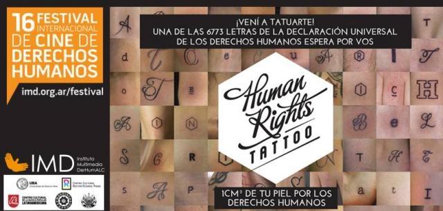 1cm de piel por los derechos humanos
