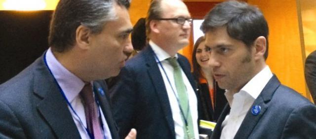 Kicillof (Economía) y Vanoli (Pres. del BCRA)