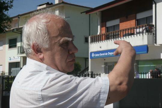 Abílio Costa assistiu ao assalto