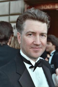 David Lynch at the Emmys in 1990