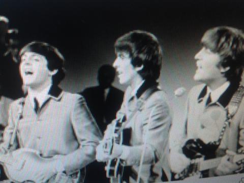 The Beatles en pleno show