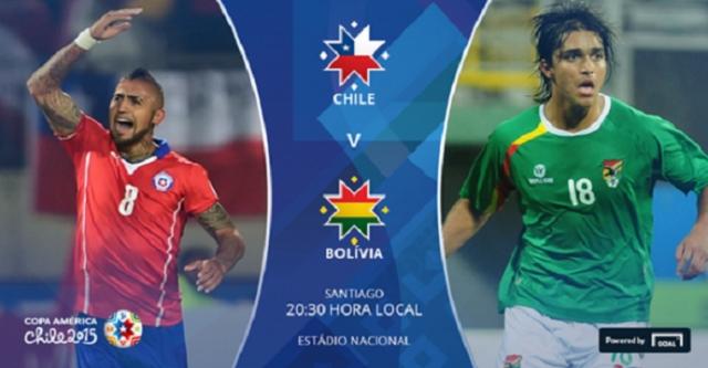 DIRECT / Copa America : Chili - Bolivie (LIVE)