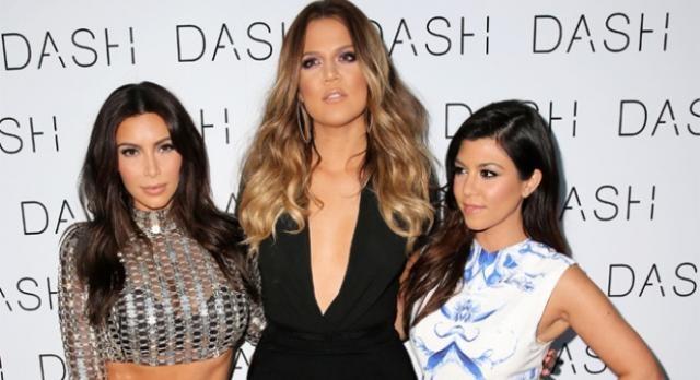 Kim, Khloe e Kourtney Kardashian