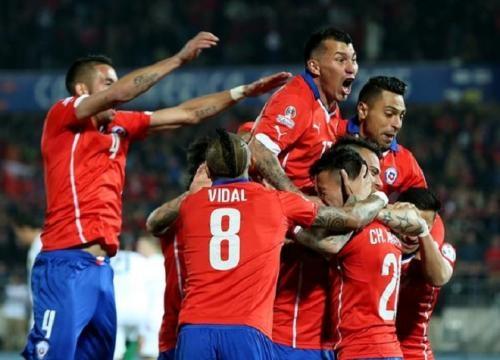Le Chili écrase la Bolivie 5-0 en Copa America !
