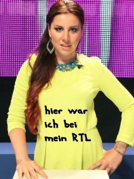 RTL und Kate sexy Auftritt in