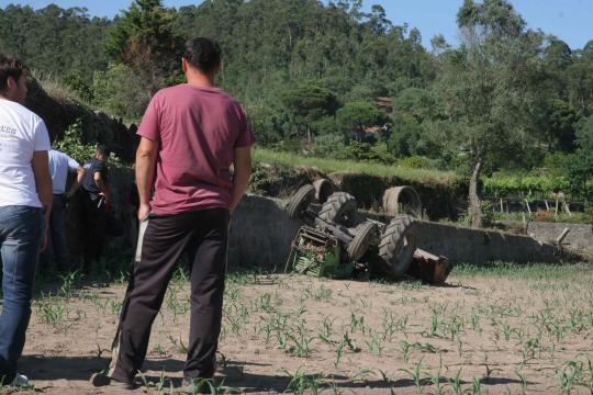 Tragédia em Vila Cova com a morte do jornaleiro