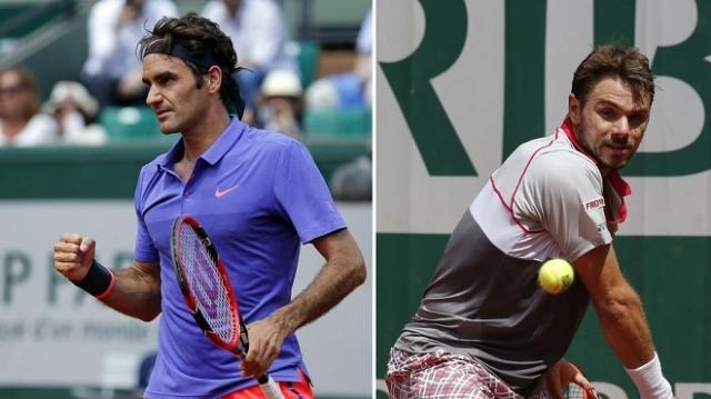 Suivez la rencontre : Wawrinka - Federer en direct