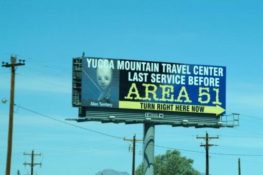 El Area 51, instalaciones secretas no tan secretas