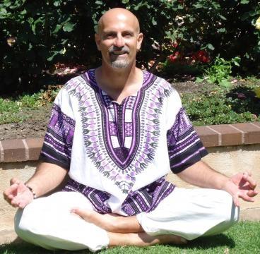 Posição de meditação Meia-Lótus