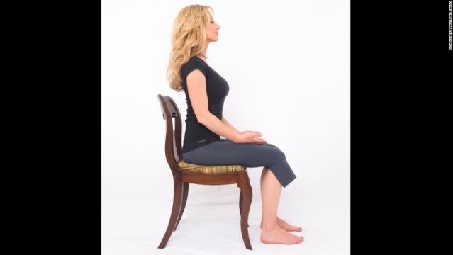 Posição de meditação Trono