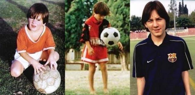 Messi de chico, estaba todo por empezar - Archivo