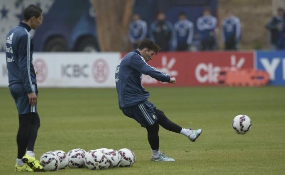 Messi, en la Copa América. Facebook Leo Messi