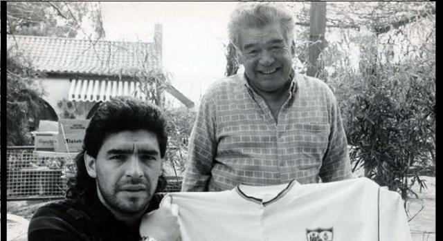 Don Diego siempre acompañó a su hijo