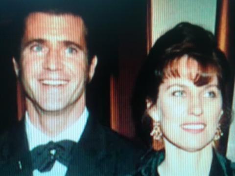 Mel Gibson y su esposa en tiempos felices