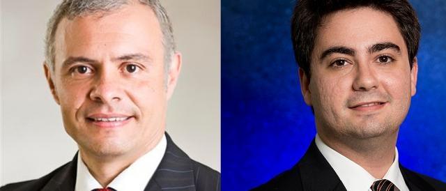 Os advogados Gabriel Di Blasi e Felipe Oquendo