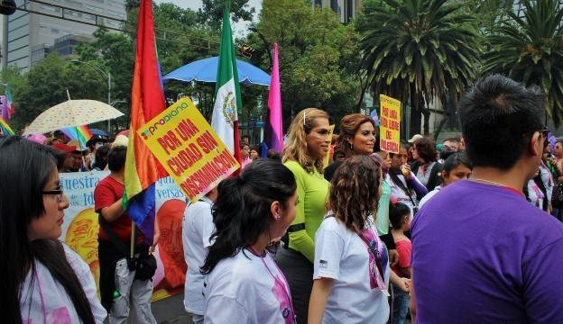 Las mujeres trans encabezaron la marcha