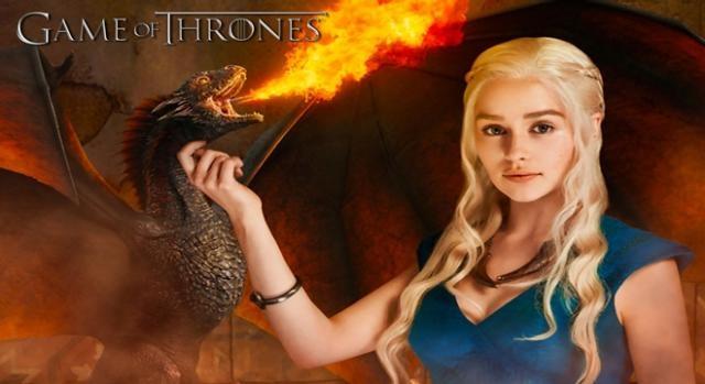 La madre de los dragones en 'Juego de Tronos'