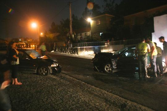 Acidente aconteceu na EN 306 em Barcelos.