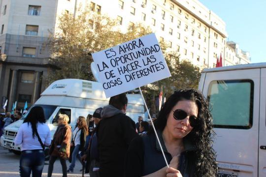 Diversos lemas. Foto: Lourdes Valenzuela