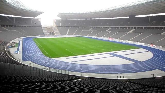 El estadio de Berlín, donde será la final