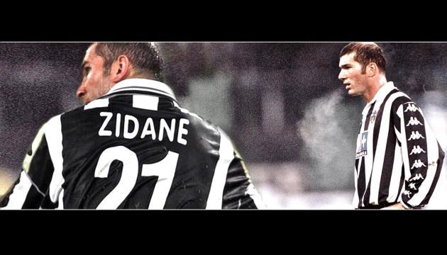 Zidane, genio y figura primero en la Juve