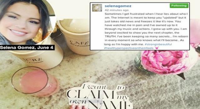 Selena Gomez publie un message mystérieux.