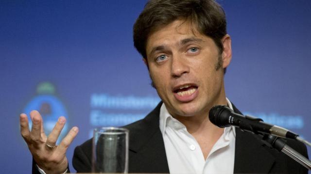 Axel Kicillof, titular de Economía