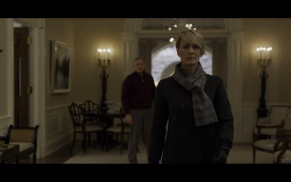 Claire verlässt den Präsidenten und ihren Mann