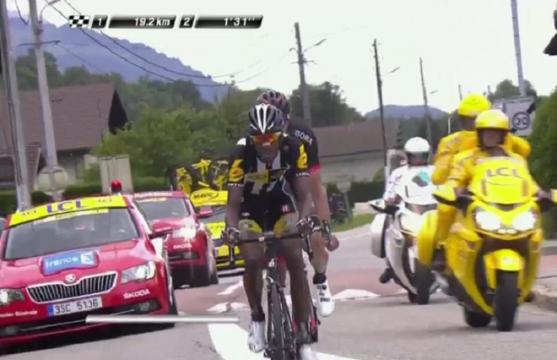 Critérium du Dauphiné : 1ere étape en direct !