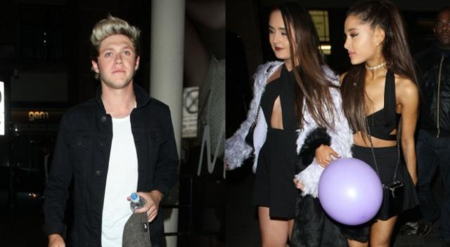 Niall e Ariana juntos no clube Cirque le Soir