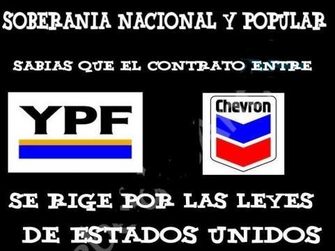 El contrato Chevron/YPF bajo jurisdicción yanqui.