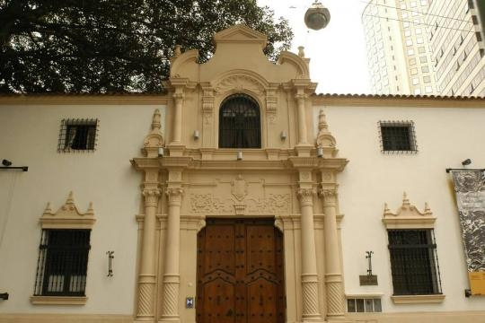 Fachada del Museo Isaac Fernández Blanco